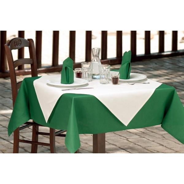 τραπεζομάντιλο Πράσινο Σκούρο Νο 7 | ναπερόν Εκρού Νο 2 | πετσέτες Πράσινο Σκούρο Νο 7