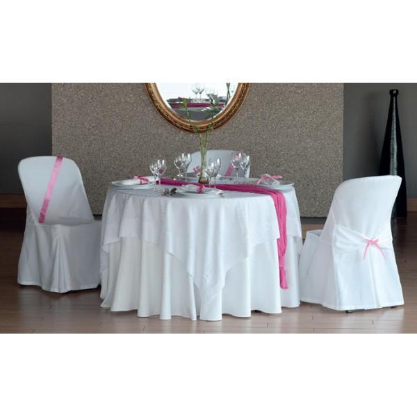 τραπεζομάντιλο S. B. Λευκό Νο 1 | ναπερόν Rose Frame Λευκό Νο 1 | πετσέτες S. B. Λευκό Νο 1 | κάλυμμα καρέκλας Κωδ. 1300