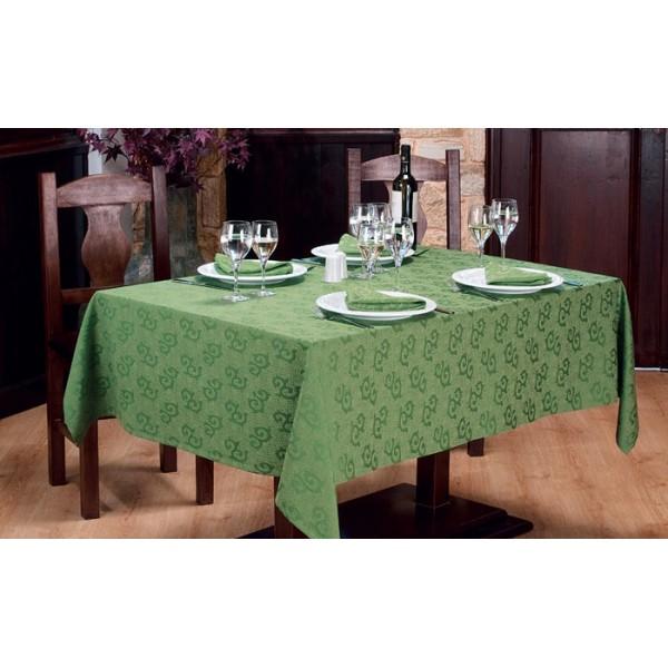 τραπεζομάντιλο Ζακάρ Πράσινο 2χρωμο Νο 11 | πετσέτες Ζακάρ Πράσινο 2χρωμο Νο 11